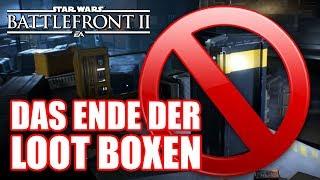 Battlefront 2 Update: Das Ende der Lootboxen!