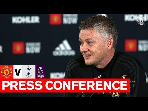 Manager's Press Conference | Manchester United v Tottenham Hotspur | Premier League