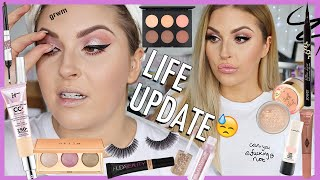 chit chat GRWM life update 💔 grieving, new tattoos & my plans by Shaaanxo