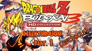 Dragon Ball Z HD Collection Walkthrough - Budokai 3 (Goku) Pt. 1