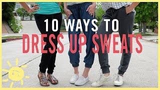 Video MOM STYLE | 10 Ways to Dress Up Sweats MP3, 3GP, MP4, WEBM, AVI, FLV September 2018