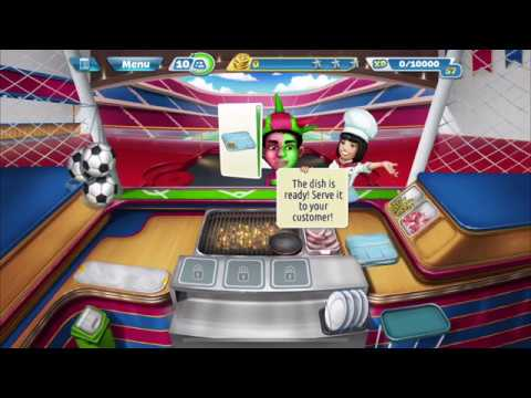 Cooking Fever – Sports Bar Tutorial