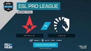 Astralis vs Liquid - ESL Pro League S7 Finals - map2 - de_nuke [yXo, CrystalMay]