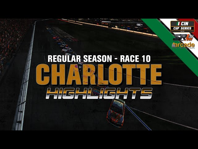 CIN CUP SERIES 2020 Gara 10 Passione Sim Racing Charlotte 300 Highlights