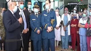 Le DG de la Sûreté nationale, Khelifa Ounissi, en visite de travail à l'hôpital régional d'Oran