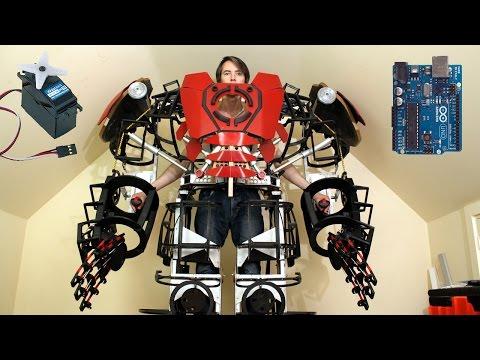 XRobots – Iron Man Hulkbuster Cosplay Part 28, Some Electronics with Arduino