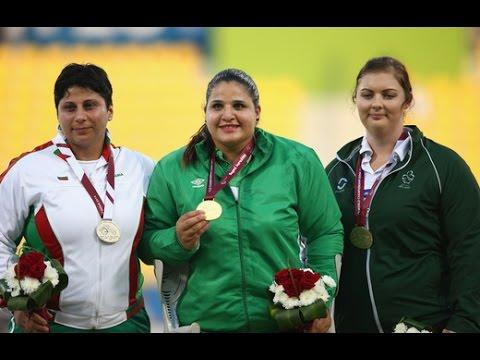 hampionnats du Monde : Nassima Saïfi remporte l'or du disque