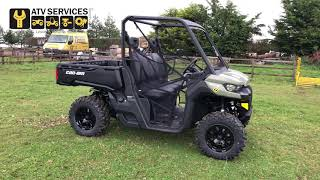 7. 2019 Can Am Traxter HD8 DPS International