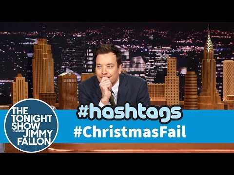 Tonight - With Christmas around the corner, Jimmy reads his favorite tweets with the hashtag #ChristmasFail. Subscribe NOW to The Tonight Show Starring Jimmy Fallon: http://bit.ly/1nwT1aN Watch The...