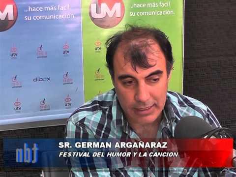 ENTRADAS FESTIVAL German Argañaraz