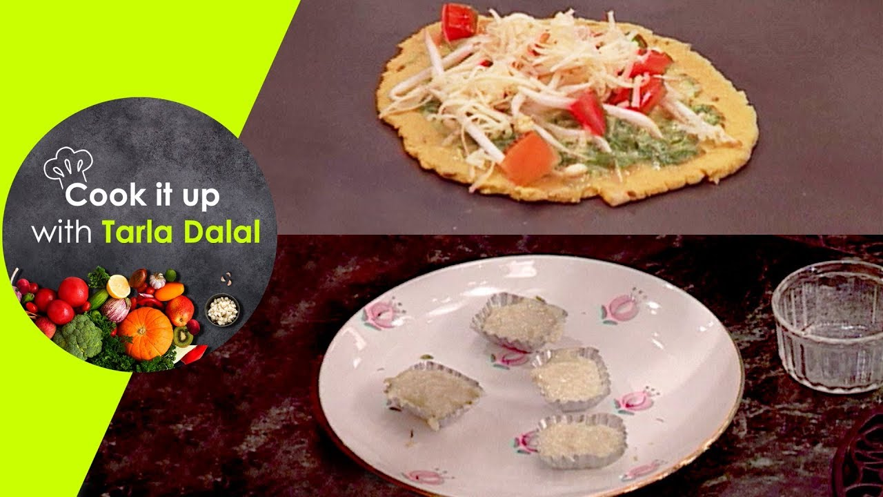 Cook It Up With Tarla Dalal – Ep 1 – Sprouts Oondhi Yo, Kalakand, Hari Chilla Roti, Kalakand
