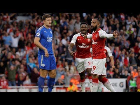 Video: MATCH HIGHLIGHTS: Arsenal v. Leicester City