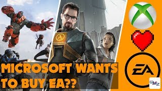 Valve making Half-Life 3?? Xbox wants to buy EA and Paragon dies