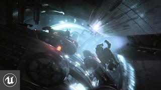 Видео демонстрация некоторых возможностей Unreal Engine 4 – Infiltrator