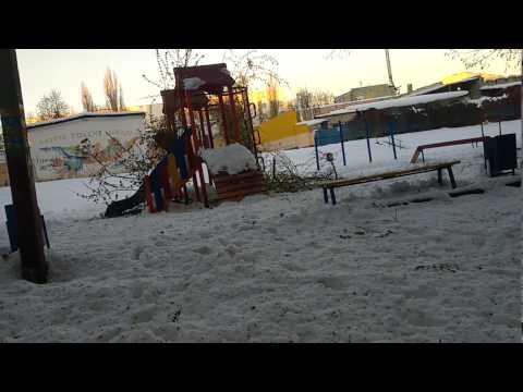 Новости после  аномальной погоды  Харьков Украина 20.04 2017 Anomalous weather news Kharkov Ukraine