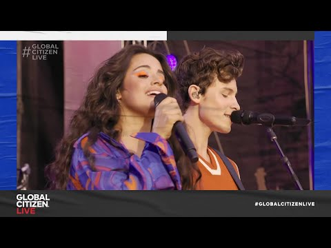 Camila Cabello & Shawn Mendes – Señorita (Live in New York City 2021) | Global Citizen Live