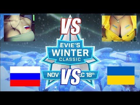 Турнир в игре Paladins Россия против Украины