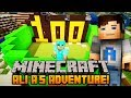 "Minecraft - Ali-A's Adventure #100 - ""ROAD TO ENDER DRAGON!"""