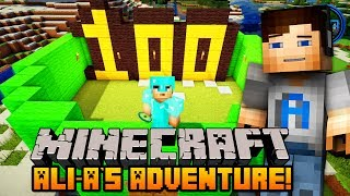 """Minecraft - Ali-A's Adventure #100 - """"ROAD TO ENDER DRAGON!"""""""