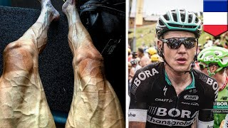 สภาพขาน่าตกใจ พาเวล โพลยานสกี โชว์จากตูร์เดอฟร็องส์FRANCE — พาเวล โพลยานสกี นักปั่นจักรยานชาวโปแลนด์ที่ห่างจากการแตะเส้นชัยตูร์เดอฟร็องส์ในปีนี้ไปแค่ไม่กี่วัน เพิ่งโพสต์รูปขาของตัวเองที่ดึงดูดชาวเน็ตได้อย่างประหลาดนักปั่นของทีมเยอรมัน Bora-Hansgrohe รายนี้ เป็นหนึ่งในนักปั่นน่องเหล็ก 198 รายที่เข้าแข่งขันความเร็วเป็นระยะทาง 2,200 ไมล์ โดยเป็นการปั่นขึ้นเขา 23 ครั้ง ในเวลา 23 วันเท่านั้น หลังจากผ่านช่วงที่ 16 จาก 21 ช่วง เขาได้ถ่ายรูปต้นขาไปจนถึงเท้าที่เปี่ยมไปด้วยเส้นเลือดปูดโปนอย่างน่ากลัว แถมผิวยังไหม้อย่างรุนแรง หลังจากอัปโหลดภาพสุดสยองไปยังไอจี  ผู้ใช้จำนวนมากต่างก็สงสัยว่าเขาจะสามารถเดินหน้าจนจบการแข่งขันได้หรือไม่ นักกายภาพบำบัดลุค วอร์ทิงตัน เดอะเธิร์ด อธิบายว่าหลอดเลือดโป่งพองนั้นบ่งบอกว่ามีเลือดปริมาณมากไหลเข้าไปในกล้ามเนื้อที่ถูกใช้งานอยู่ สำหรับนักปั่นจักรยานมือสมัครเล่น เลือดจะไหลเวียนราว 20 ลิตรต่อนาที แต่สำหรับนักปั่นมืออาชีพแล้วปริมาณการไหลเวียนของโลหิตจะเพิ่มขึ้นเป็นสองเท่า-------------------------------------------------------------TomoNews (โทโมนิวส์) เป็นแหล่งข้อมูลข่าวสารที่ดีที่สุดของคุณ ข่าวของเรามีเนื้อหาที่สนุกที่สุด, แปลกที่สุด และครอบคลุมกระแสข่าวที่ได้รับความนิยม รวมทั้งได้รับการกล่าวถึงมากที่สุดบนอินเตอร์เน็ต เราจะเป็นกระบอกเสียงแบบไม่เซ็นเซอร์ หากคุณหัวเราะ เราจะหัวเราะไปกับคุณ หากคุณโกรธเกรี้ยว เราก็จะโมโหโกรธาไปกับคุณด้วย เรานำเสนอข่าวตามความเป็นจริง และเนื่องจากเราผลิตข่าวแบบอนิเมชั่น TomoNews จึงเป็นแหล่งข่าวในแบบที่คุณไม่เคยสัมผัสมาก่อนหรือติดตามชมเราที่:Facebook https://www.facebook.com/tomonewsthTwitter @TomoNewsTH https://twitter.com/TomonewsTHGoogle+ https://plus.google.com/+TomoNewsTH/