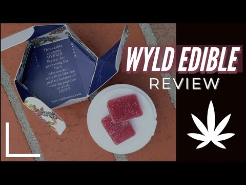 WYLD Gummy Edible Review!!!! (GET BAKED!)