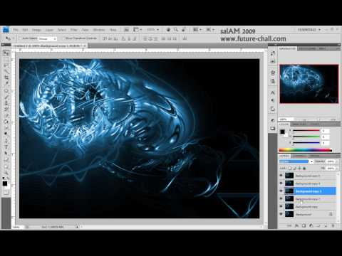 Imágenes Swirl en Illustrator y Photoshop
