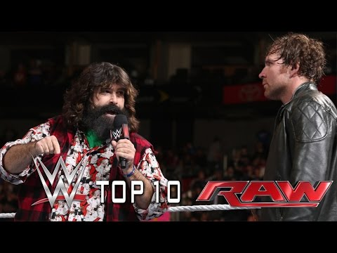 top moments - WWE Top 10 takes you back to this week's Monday Night Raw to revisit the show's most thrilling, physical and controversial moments. See FULL episodes of Raw on WWE NETWORK: ...