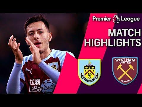Video: Burnley v. West Ham | PREMIER LEAGUE MATCH HIGHLIGHTS | 12/30/18 | NBC Sports