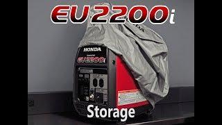 6. Honda EU2200i Generator Storage