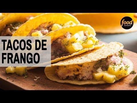 TACOS DE FRANGO | COZINHA FOOD NETWORK