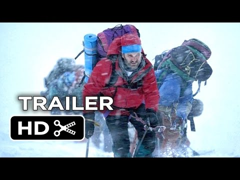 Everest Official Trailer ,Jason Clarke, Jake Gyllenhaal Adventure