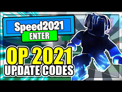 (2021) ALL *NEW* SECRET OP CODES! Legends Of Speed Roblox