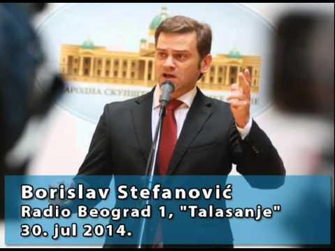 Борислав Стефановић у емисији Таласање на Радио Београду 1 (30.7.2014)