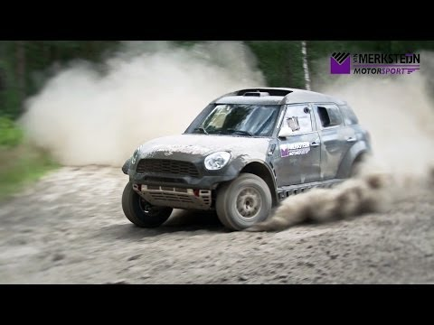 Van Merksteijn Motorsport – Test Dakar Mini 2014 – Fursten Forest