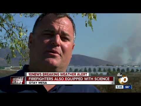 San Diego firefighters also equipped with science