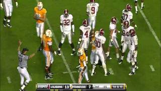 Tauren Poole vs Alabama (2010)