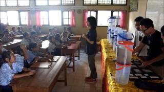 インドネシアの子供たちに浄水器を届けよう!