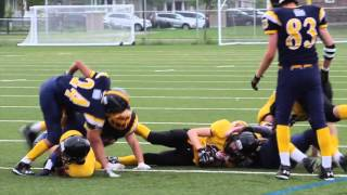 Week 5 - Bantam Warriors 18 vs Bel-Air Lions 21
