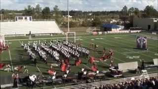 Olive Branch High School 2015 Marching Band  -- BE CAREFUL WHAT YOU WISH FOR -- Championship