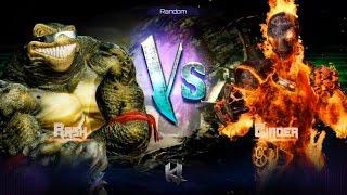 Killer Instinct - Fight 18 - Rash(Holder) vs Cinder(Challenger)