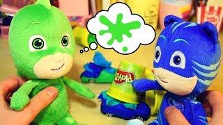Play doh - Creiamo le macchinine di GECO e GATTOBOY con il Play-Doh!  [Giochi per bambini coi Pj Masks]