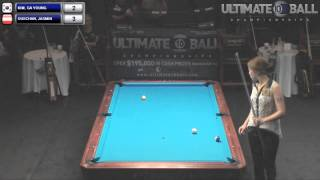 Ga Young Kim V Jasmine Ouschan Ultimate 10 Ball Championships 2013