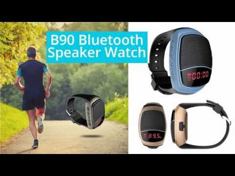 B90 Bluetooth Speaker Watch with LED Display