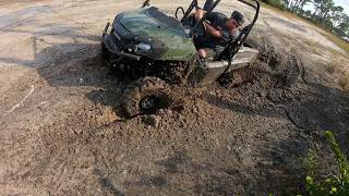 10. 2020 PIONEER 700 MUDDING AND TRAIL RIDING!!!!!