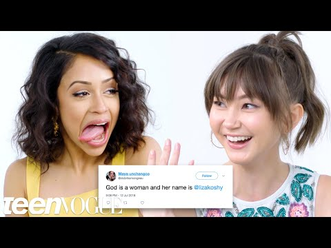 Liza Koshy Competes in a Compliment Battle With Kimiko Glenn | Teen Vogue