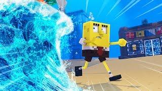 Minecraft - Spongebob Tsunami Challenge! (Bikini Bottom)