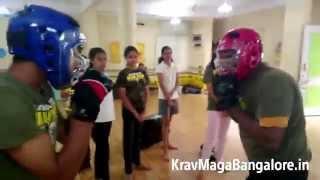 BadAzz Krav Maga Sparring Self Defense