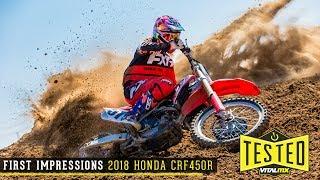 4. Vital MX First Impressions: 2018 Honda CRF450R