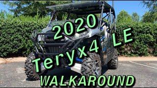 3. 2020 Kawasaki Teryx4 LE Walkaround Startup