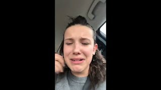 Millie Bobby Brown is SHOCKED at Jacob Sartorius's answer